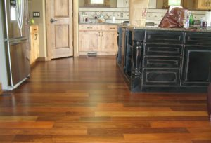 Hardwood Kitchen Floor